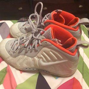 Grey Nike Foam Posites